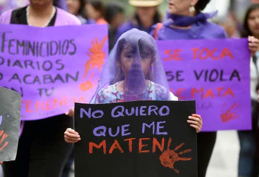 A Mexico, le 8 mars.