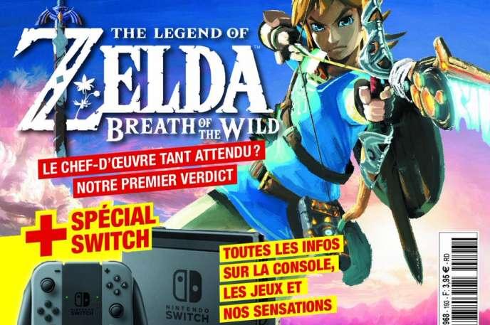 Durant un mois, la presse spécialisée s'est concentrée sur la Switch et un jeu en particulier,« Zelda».