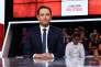 Benoît Hamon lors de «L'Emission politique», sur France 2, à Saint-Cloud, le 9 mars.