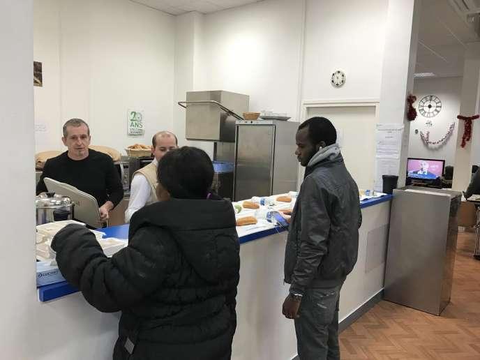 Centre d'accueil de jourdu Secours islamique France, à Massy.