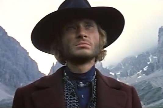 Johnny Hallyday dans «Le Spécialiste», un western réalisé par Sergio Corbucci en 1969.