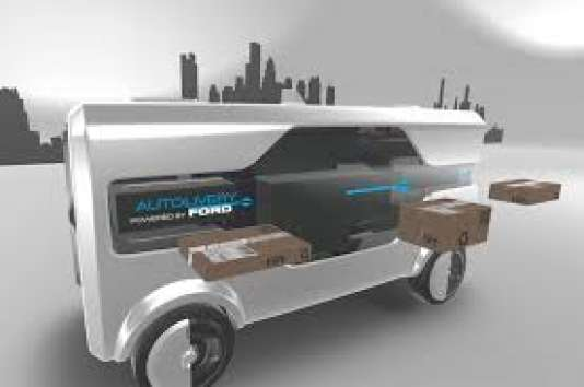 Le Ford Autolivery Concept présenté à Barcelone au Mobile World Congress.