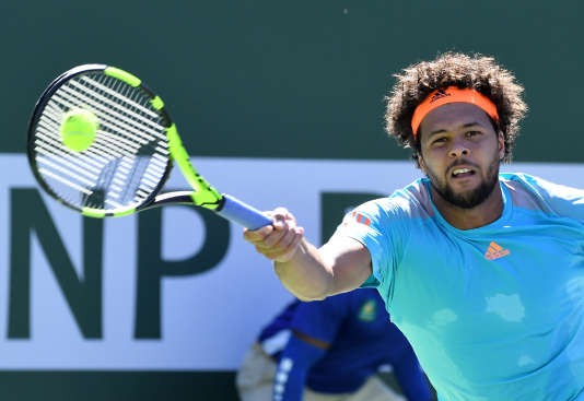 Jo-Wilfried Tsonga, le 11 mars à Indian Wells.