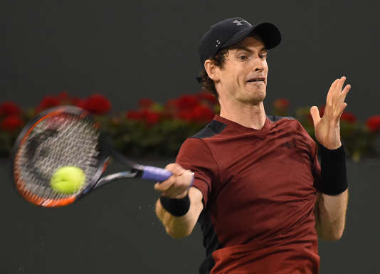 Andy Murray, le 11 mars à Indian Wells.