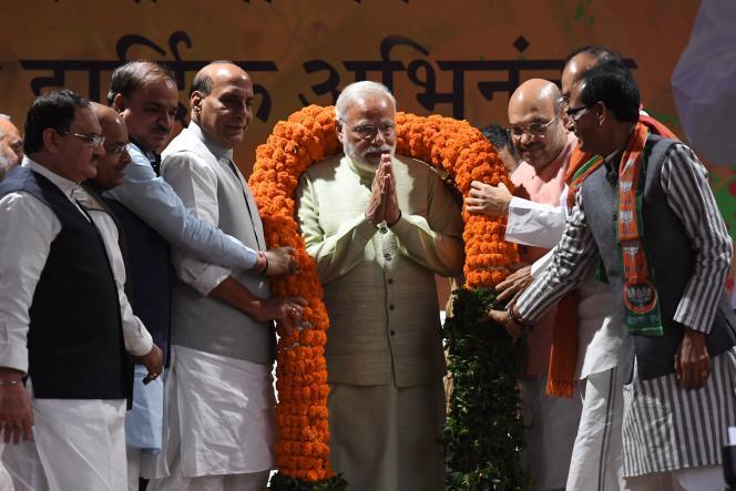 Narendra Modi, le 12 mars à New Delhi.
