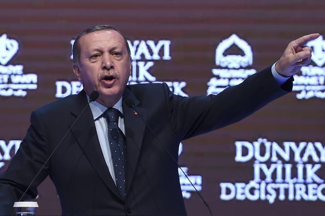 Le président turc Recep Tayyip Erdogan, à Istanbul, le 12 mars.