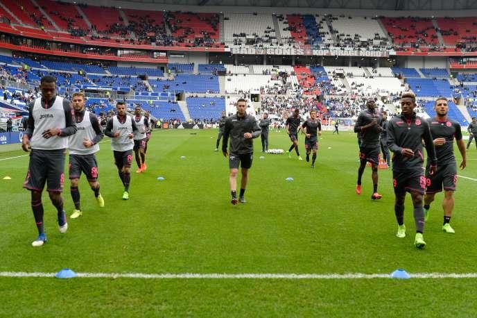 L'OL est le seul club français de Ligue 1 a être propriétaire de son stade, à Décines, où il recevait Toulouse, le 12 mars.