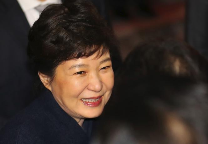 « Le mouvement en faveur d'un assainissement de la vie politique semble irréversible. Il pourrait aussi bénéficier aux chaebols» (Photo: l'ex-présidente Park Geun-Hye le 12 mars à Séoul).