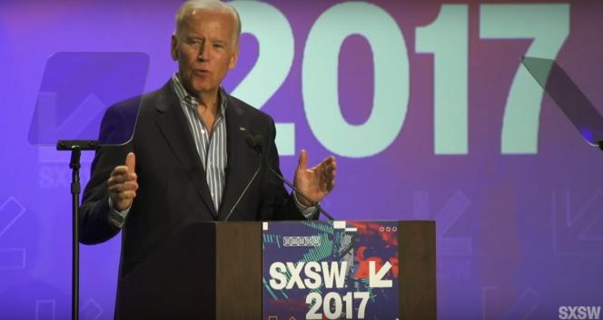 L'ancien vice-président américain a esquissé, lors du festival South by Southwest d'Austin, au Texas, les axes de son plan de lutte contre le cancer.