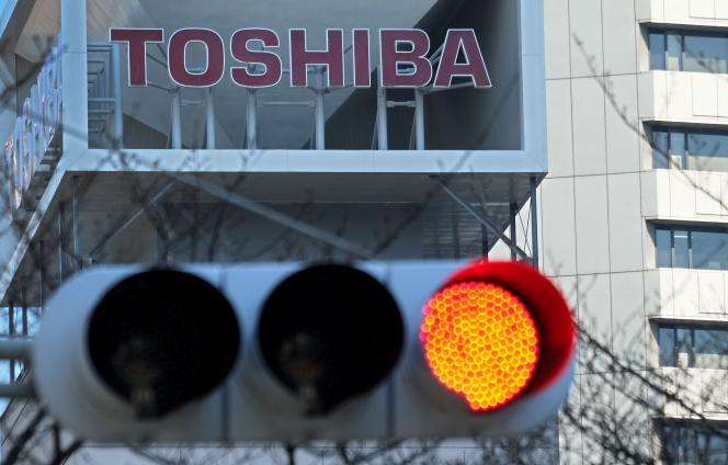 Le siège de Toshiba, à Tokyo, le 16 février 2017.