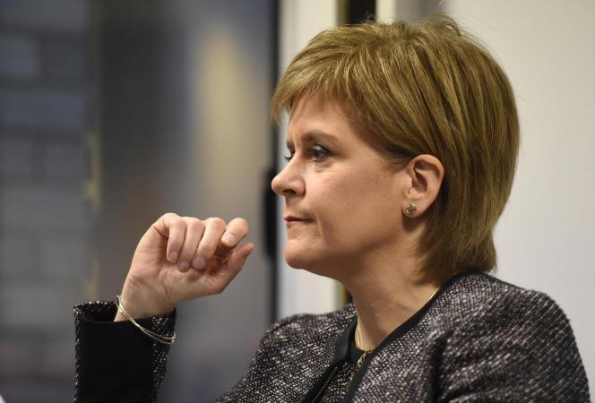 La première ministre écossaise Nicola Sturgeon, en novembre 2016.