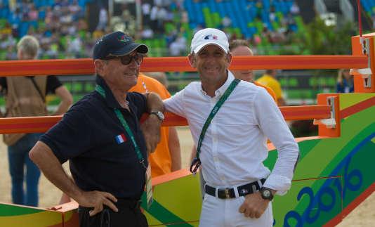 Marcel et Philippe Rozier aux Jeux olympiques de Rio, en août 2016.