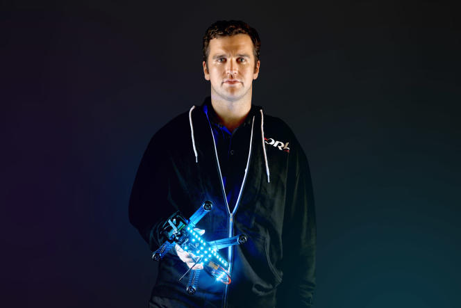 Nicholas Horbaczewski a fondé la Drone Racing League en 2015.