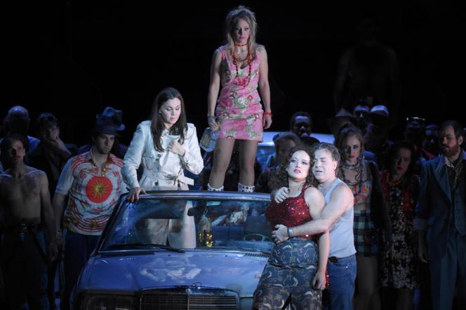 «Carmen», de Bizet à l'Opera Bastille.