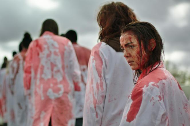 Garance Marillier est Justine dans le film « Grave », réalisé par Julia Ducournau.