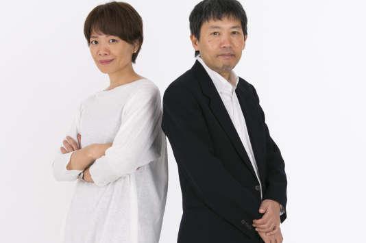 Les mangakas Mari Miyazaki et Tori Miki.