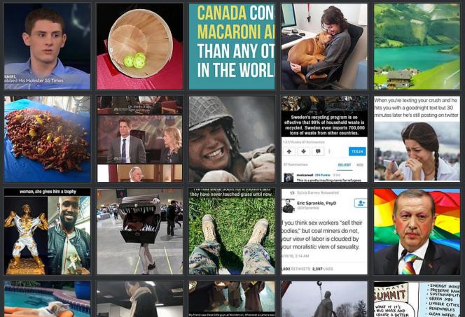 Imgur est une plate-forme de partage d'images.