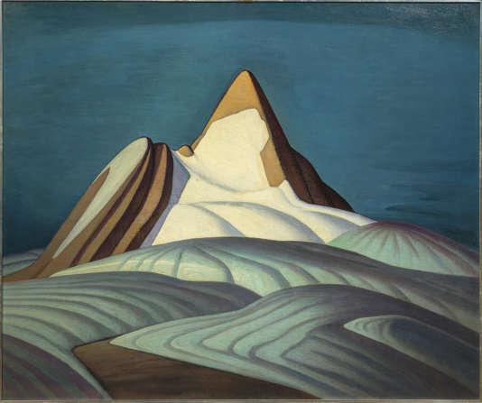 « Isolation Peak, Rocky Mountains», de Lawren S. Harris (1930)