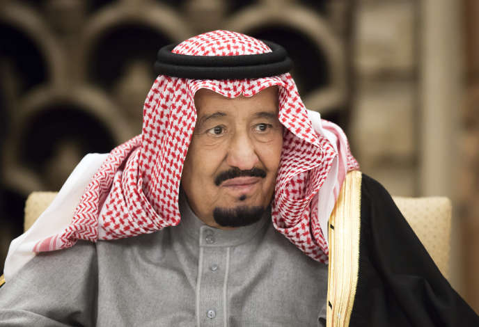 Le roi Salman d'Arabie saoudite, en 2017.
