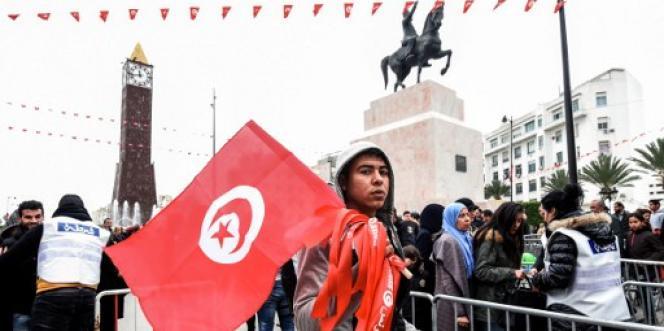 A Tunis, le 14 janvier 2017, pour le sixième anniversaire de la révolution de 2011.