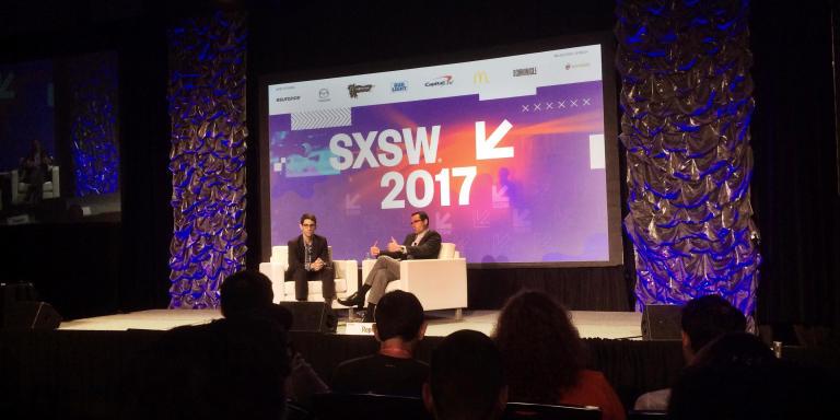 Jeux vidéo, manipulations génétique, intelligence artificielle: le directeur de la section R&D du Pentagone a esquissé les contours de la guerre du futur lors du festival SXSW.
