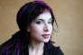 L'auteure finlandaise Sofi Oksanen en 2015.