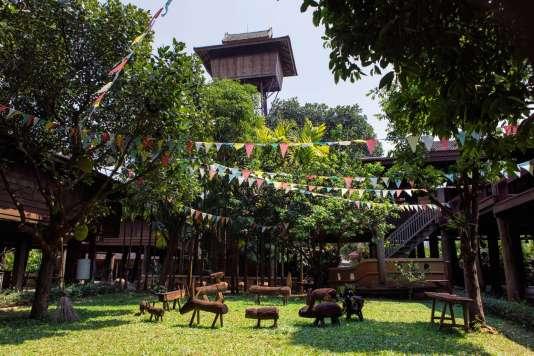 Lanna Rice Barn Hotel.