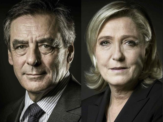 François Fillon - Marine Le Pen