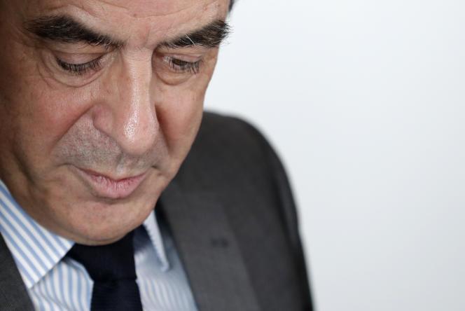 François Fillon, le 14 mars, à Paris.