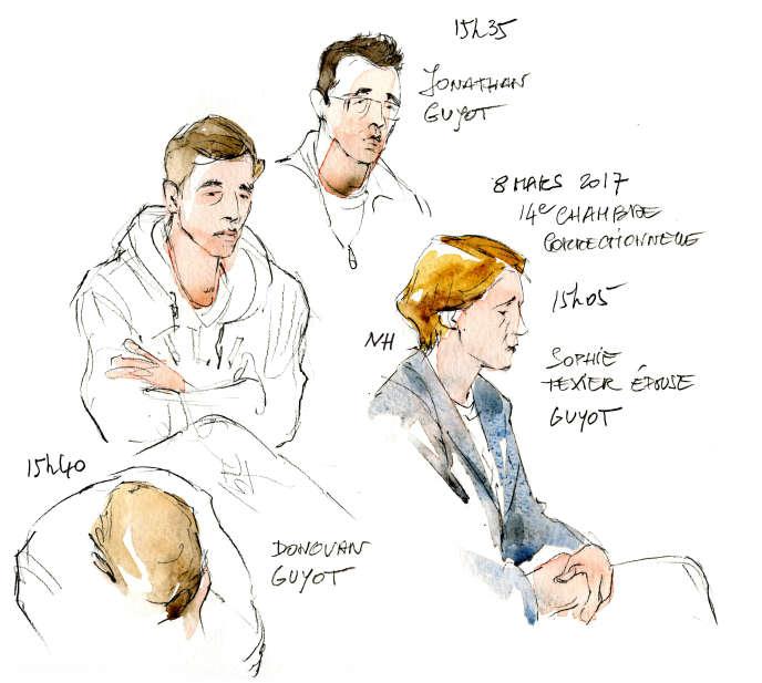 Au tribunal correctionnel de Paris.