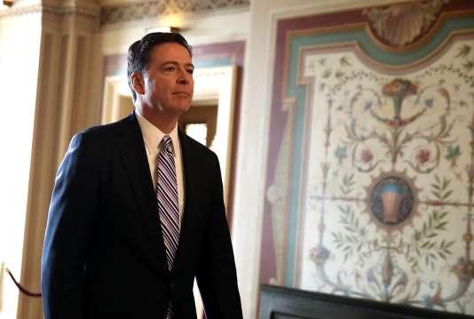 Le directeur du FBI, James Comey, sera entendu le 20 mars parla commission sur le renseignement de la Chambre des représentants.