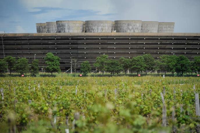 La centrale nucléaire de Chinon, en Indre-etLoire.