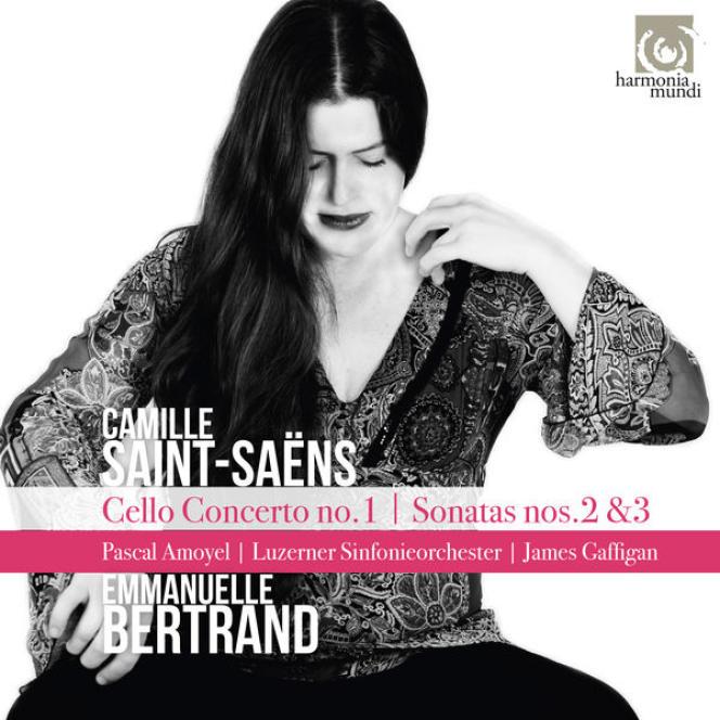 Pochette de l'album«Saint-Saëns», d'Emmanuelle Bertrand.