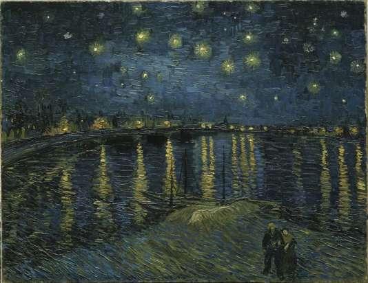 Vincent van Gogh, « La Nuit étoilée», 1888 - huile sur toile, 73 x 92 cm.