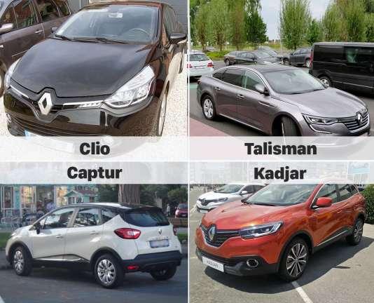 Parmi les modèles incriminés dans l'enquête sur les moteurs de Renault truqués se trouvent des «best sellers» comme la Clio ou la Captur.