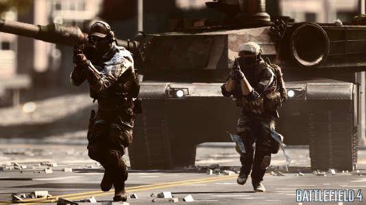 Images tirées du jeu vidéo «Battlefield 4».