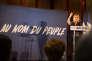 Marine Le Pen en meeting à Saint Raphaël (Var) le 15 mars.