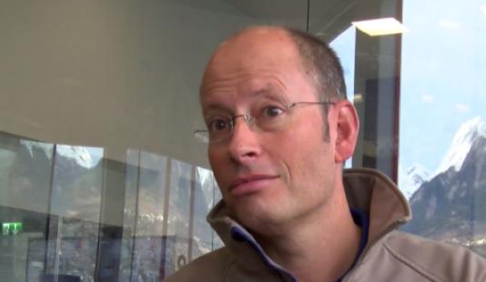 Dr Patrick Schoettker, le médecin de l'expédition, médecin chef au service d'anesthésiologie du département des services de chirurgie et d'anesthésiologie du centre hospitalier universitaire vaudois (Suisse).