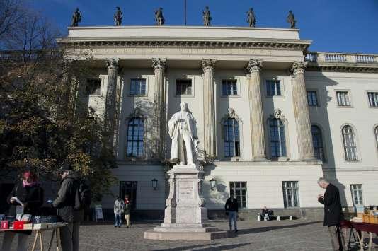 Bâtiment principal de l'université Humboldt de Berlin en 2012.