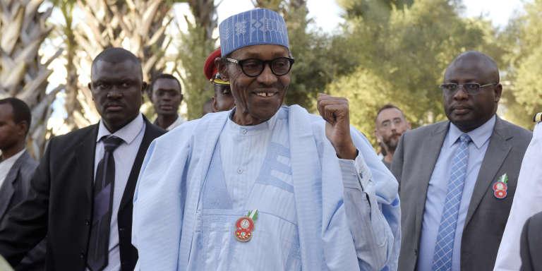 Le président nigérian, Muhammadu Buhari, en décembre 2016.