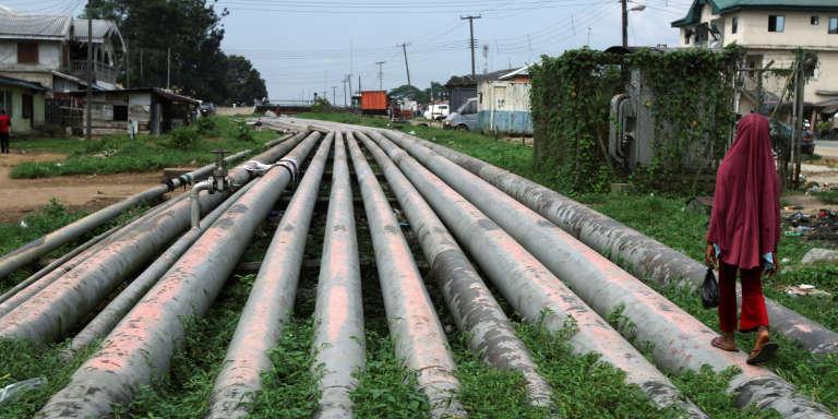 Près de Port Harcourt, ville prétrolière du sud du Nigeria.