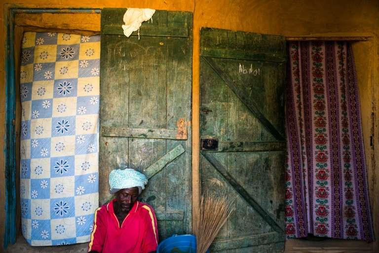 D'anciens réfugiés sont revenus vivre dans le village de Donaye, situé sur une rive du fleuve Sénégal.