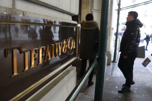 Une bijouterie Tiffany, à New York, le 6 février 2017
