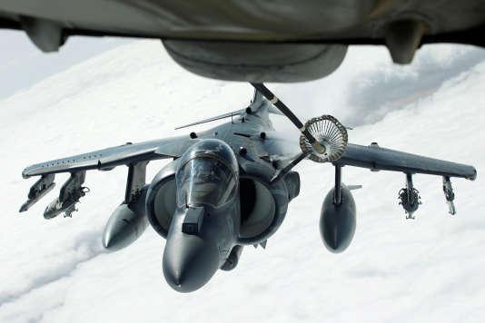 Un avion des forces américaines opérant sur les territoires irakien et syrien, le 15 mars.