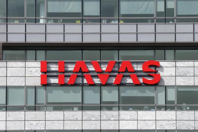 Le logo de Havas, au siège du groupe publicitaire français, à Puteaux, le 8 septembre 2013.