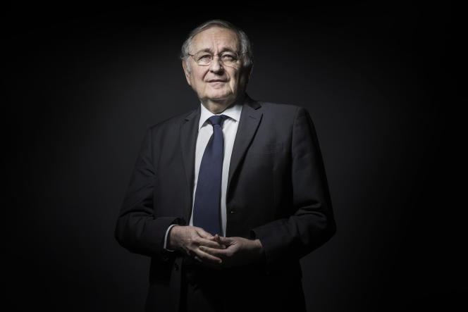 Jacques Cheminade à Paris, le 15 novembre 2016.