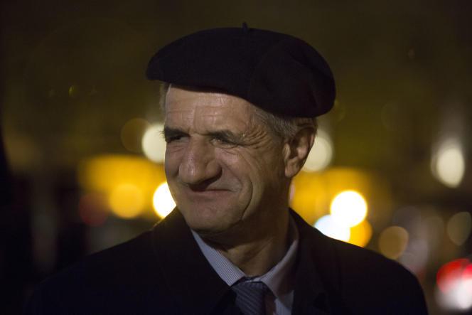 Jean Lassalle à Paris, le 2 mai 2016.