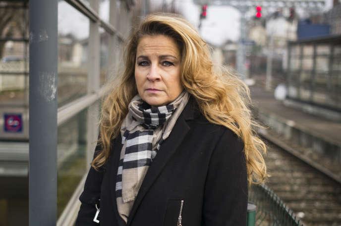 Aurore Collignon, employée de banque au Luxembourg.