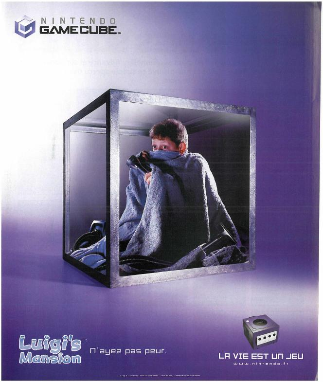 En 2002, Nintendo a tenté d'imposer l'idée que la GameCube était un GameCube. Avec moins de succès que pour la console Game Boy. (C'est vrai que c'est pratique, d'écrire« la console Game Boy», dites donc)