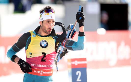 Martin Fourcade, le 18 mars à Oslo.